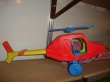 Helicoptero 46X21 cm R$ 25,00