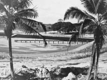 Obras da Lagoa de Estabilização da cidade de Sapé-PB, em 1972
