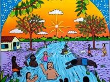 banho no rio