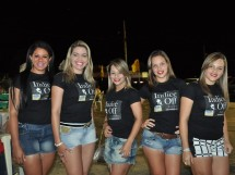 Concorrentes do concurso garota Patos Moto Fest