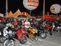 Motociclistas no Patos Moto Fest