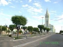 Praça central de Ibiara