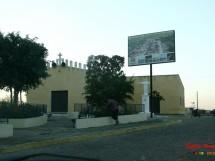 Avenida Principal na saida para Serra Branca e Igreja