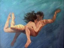 Bruno Steinbach-Areia Vermelha-Acrílica-tela-144x159 cm-1996-Mossoró-Rio Grande do Norte