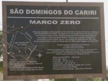 Marco Zero - São Domingos do Cariri