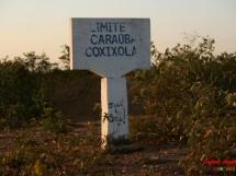 Marco no limite dos municipios de Caraubas e Coxixola-PB
