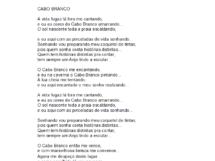 Poema Cabo Branco