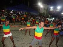 apresentação de dança na Quinzena Cultural