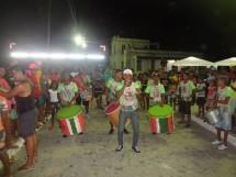 apresentação musical na Quinzena Cultural