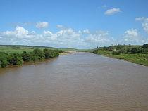 Afluente do Rio Mamanguape trecho em Arara