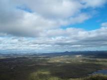 CAJAZEIRAS - vista a partir da Serra do bento