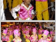 Desfile da Escola ROSAS DE OURO