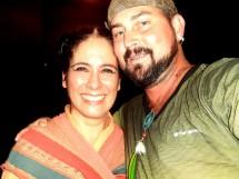 Dimas Policena e Paula Coelho