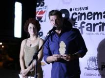 premiação no festival