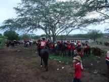 cavalgada em comemoração a emancipação