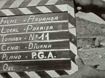 gravações do documentário Aruanda