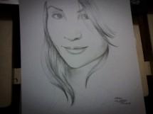 Desenho feito em 5 minutos por Albenise Vasconcelos