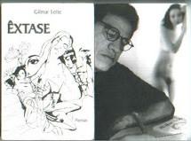 poesia_gilmar leite_ capa do livro extase
