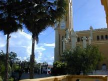 Catedral de Cajazeiras vista do palacio episcopal