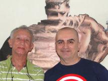 Deodato Borges  e o filho Mike Deodato_6