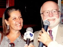 Moacir Japiassu e esposa Márcia Lobo