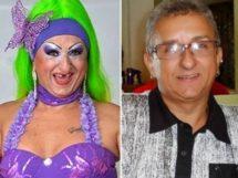 Adeilto Pereira Dias e o Personagem Biuzinha