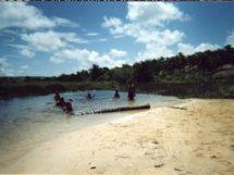 Assentamento Dona Antônia_ O Rio Baraúna