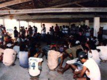 Assentamento Dona Antônia_ assentados reunidos