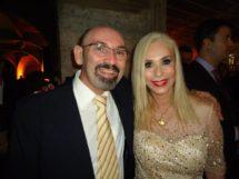 Dimas Xavier_ com a filha de Gonzagão Rosinha Gonzaga