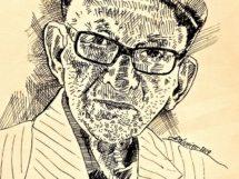 Paulo Nunes Batista- Imagem Jo Oliveira -homenagem ao poeta
