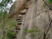 Pedra da escada- Baraúna