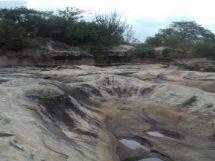 Formações rochosas dos tanques