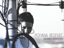 """Capa do disco """"Samba Teimoso"""" de Polyana Resende"""