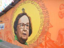 Lourdes Ramalho- Grafite na Vila do Artesão