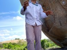 Djair Fialho( arqueólogo) Lajedo do Bravo. Boa Vista-PB