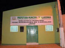 Biblioteca José Rodrigues de Carvalho localizada em Alagoinha